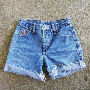 Cut Off Wranglers Shorts